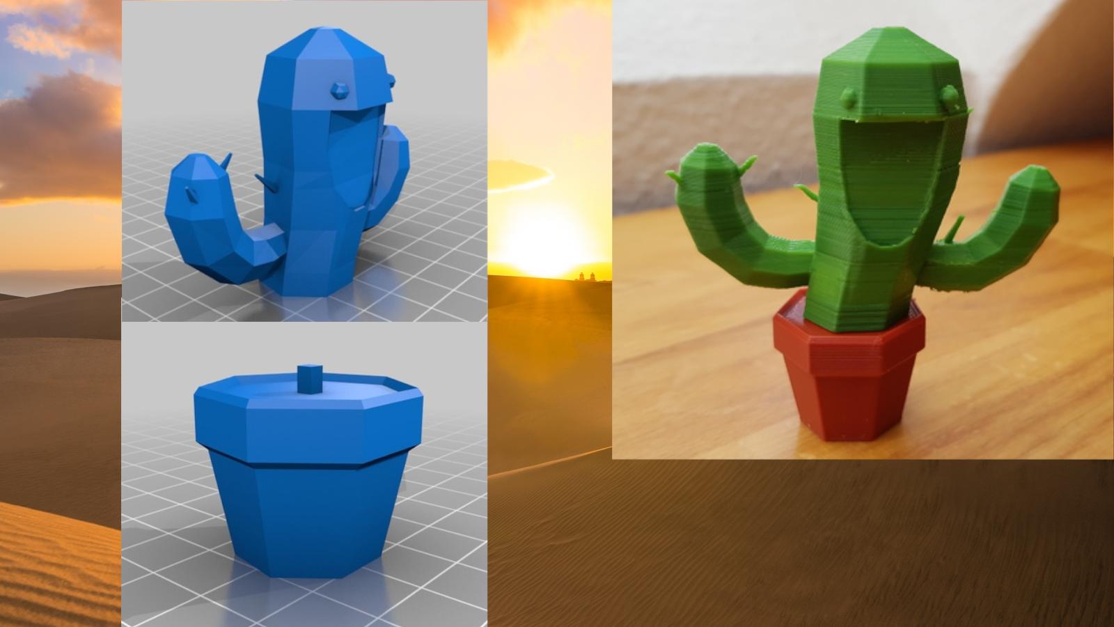 3dprint cactus